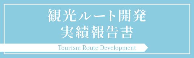 観光ルート開発実績報告書